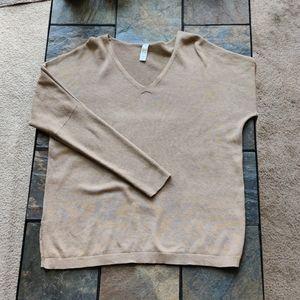 Lolë Neutral Colored Long Sleeve Sweater Women's M